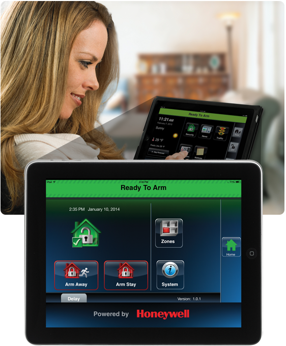 Remote Services on Tablet